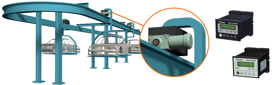 Load monitoring devices for various component conveyors