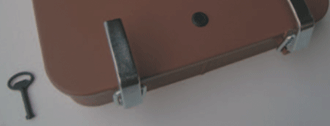 One-Touch Inspection Door with key