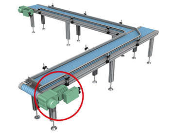 Carrier conveyor for beverage containers