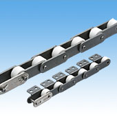 Plastic Roller Double Pitch Chain