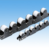 Double Pitch Chain with Top Rollers