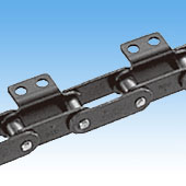 Curved Double Pitch Attachment Chain