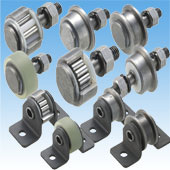 Axle Bearing Rollers & Bearing Rollers with Attachments
