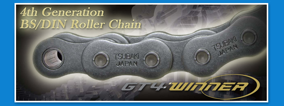4th Generation BS/DIN Roller Chain