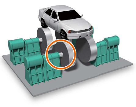 Automobile Testing Device illustration