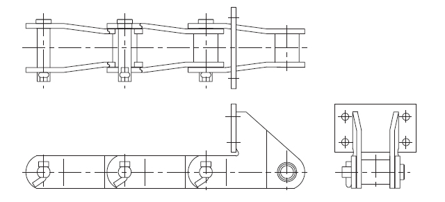 BO/BOP Type Chain Attachments fig.