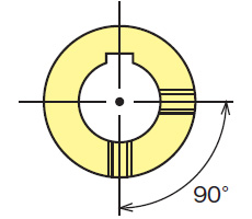 Set screw positioning illustration