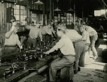 Production in the early days