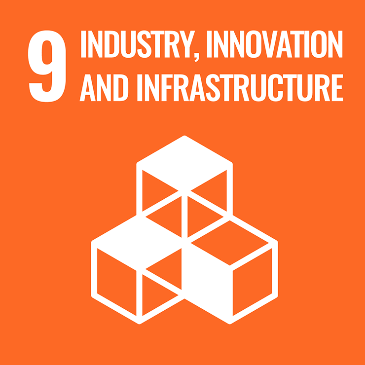 9 INDUSTRIAL INNOVATION AND INFRASTRUCTURE